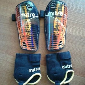 Other - MITRE Youth Shin Guards w/ Ankle Pads